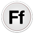 72x72px size png icon of Fontbook