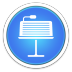 72x72px size png icon of Keynote