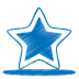 72x72px size png icon of blue star