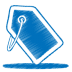 72x72px size png icon of blue tag