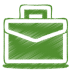 72x72px size png icon of green case