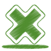 72x72px size png icon of green cross