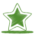 72x72px size png icon of green star