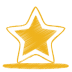 72x72px size png icon of yellow star