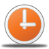 72x72px size png icon of clock
