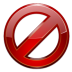72x72px size png icon of actions dialog cancel