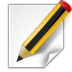 72x72px size png icon of actions document edit