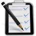 72x72px size png icon of actions mail mark task