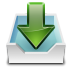 72x72px size png icon of actions mail receive