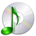 72x72px size png icon of devices media optical audio