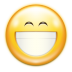 72x72px size png icon of emotes face smile big