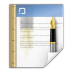 72x72px size png icon of mimetypes application msword template