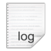 72x72px size png icon of mimetypes text x log
