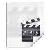 72x72px size png icon of mimetypes video x generic