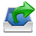 72x72px size png icon of places mail folder outbox