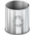 72x72px size png icon of places user trash