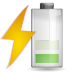 72x72px size png icon of status battery charging 040