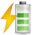 72x72px size png icon of status battery charging 080