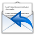 72x72px size png icon of status mail replied
