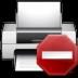 72x72px size png icon of status printer error