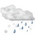 72x72px size png icon of status weather snow rain