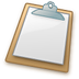 72x72px size png icon of Clipboard