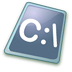 72x72px size png icon of Dos batch file