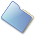 72x72px size png icon of Folder closed