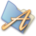 72x72px size png icon of Folder fonts