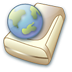 72x72px size png icon of Network hd online