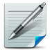 72x72px size png icon of Document write