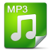 72x72px size png icon of Filetype mp 3