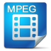 72x72px size png icon of Filetype mpeg