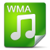 72x72px size png icon of Filetype wma