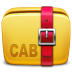 72x72px size png icon of Folder Archive cab