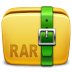 72x72px size png icon of Folder Archive rar