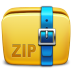 72x72px size png icon of Folder Archive zip