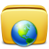 72x72px size png icon of Folder Network