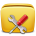 72x72px size png icon of Folder Settings Tools