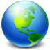 72x72px size png icon of Network Earth
