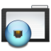 72x72px size png icon of Folder Dark Network