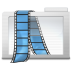 72x72px size png icon of Folder Videos