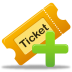72x72px size png icon of create ticket