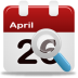 72x72px size png icon of event search