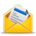 72x72px size png icon of message already read