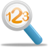 72x72px size png icon of Magnifying glass