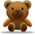 72x72px size png icon of teddy bear