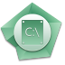 72x72px size png icon of C