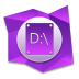 72x72px size png icon of D