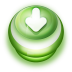 72x72px size png icon of Button Green Arrow Down